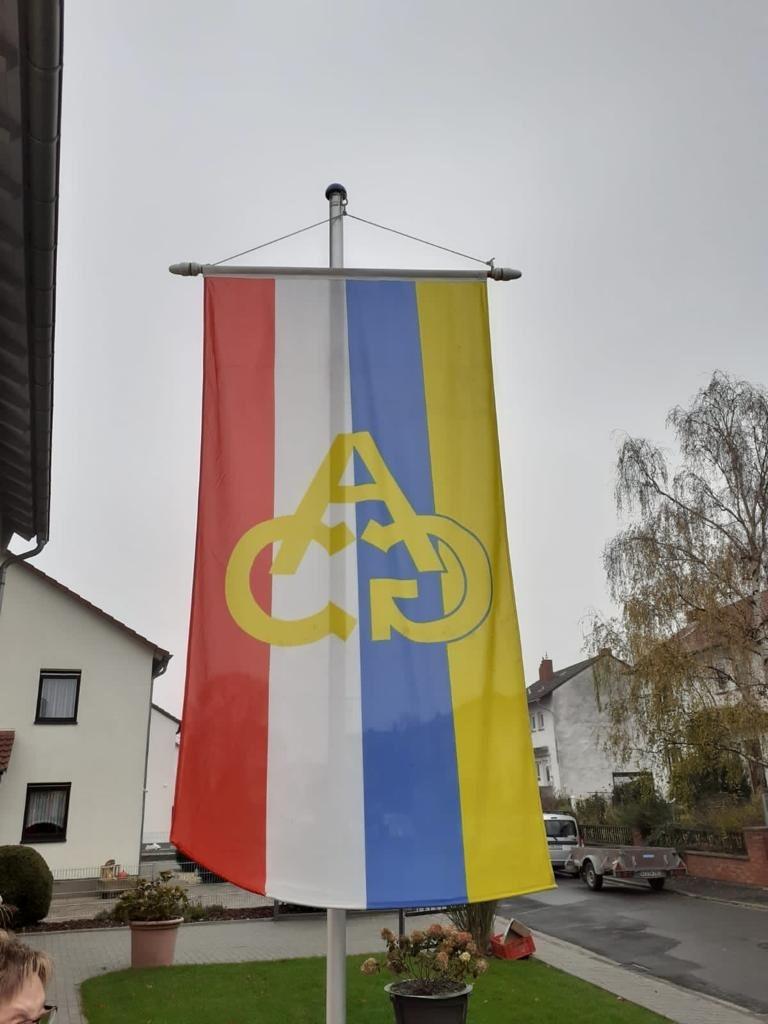 11.11.- 11:11 - die ACG Fahne ist gehisst